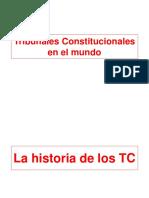 Tribunales Constitucionales en El Mundo