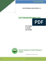 Cotton Biotechnology