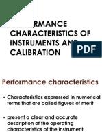 1 Performance Characteristics