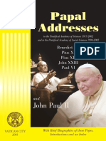 Papal Addresses to the Pontifical Academy of Sciences