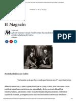 Albert Camus y Jean Paul Sartre- La Confrontación Existencialista Del Siglo