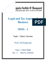 Salary Income Law