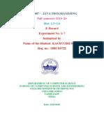 codes of java