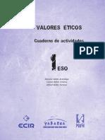 Valores Éticos Cuaderno de Actividades 1 Eso