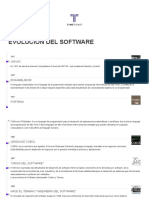 Evolucion Del Software