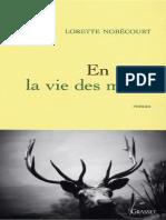 eBook Lorette Nobecourt - En Nous La Vie Des Morts