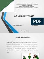 La Asertividad- FAO II