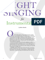 SIGHT SINGING for Instrumentalists