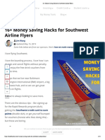 16+ Money Saving Hacks for Southwest Airline Flyers