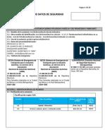 HOJA DE DATOS Y SEGURIDAD del Azul de Bromofenol Laboratorio