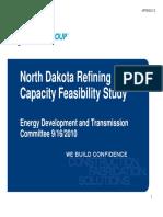 North Dakota Refining  Capacity Feasibility Study