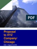 XYZ Company Proposal