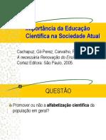 educaçao cientifica