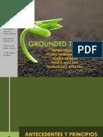 UGM Metodología Cualitativa II Grounded Theory