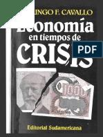 Economia en Crisis - Domingo F. Cavallo