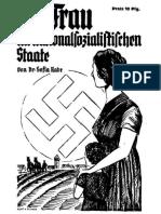 Die Frau im nationalsozialistischen Staate