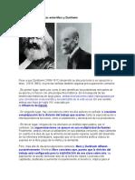 Ximidades y Diferencias Entre Marx y Durkheim