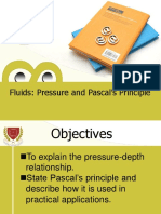 Fluids Pressure and Pascals Principle