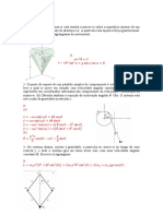 Lista de exercicios 1  Mecanica geral 2