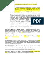 MODELO CONTRATO DE LOCAÇÃO DE CONSULTÓRIO E OUTRAS AVENÇAS - PSICÓLOGOS