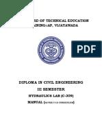 2 Fdp 08 c 309 Hydraulics Lab Total