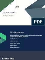 A Presentation on Web Designing