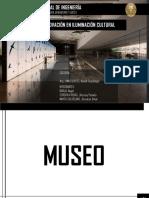 iluminacion en museo