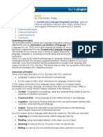 CLIL a Lesson Framework - BCBBC