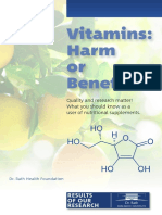 Vitamins Harm or Benefit