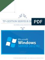 TP Gestion Du Serveur de Fichiers TP-SRV-08-1