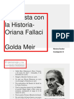 Golda Meir - Mariana Escobar
