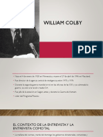 William Colby - Jhon Jairo Agudelo