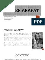 Yasser Arafat - Julián Sánchez Mira