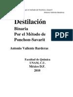 Vdocuments.mx Destilacion Binaria Por El Metodo Ponchon Savarit