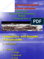 Composition and desease of mushroom