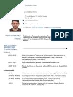 CV Manuel López