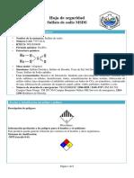 Sulfato de Sodio