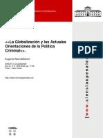 la globalizacion y las actuales orientaciones de politica criminal zaffaroni