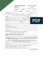 Examen medico Cruz Roja plantilla