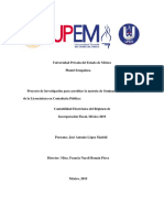 Contabilidad Electrónica Del Régimen de Incorporación Fiscal, México 2019.