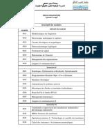 Programme GI2