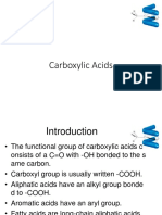 carboxyclic acid