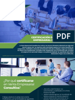 Certificación Profesional Online en Venta Empresarial Consultiva VEC
