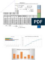 Ejercicios de Estadística Medidas de Tendencia Central