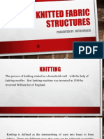 Knitted Fabric Structures
