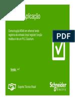 Nota de aplicação Schneider