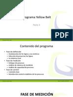 Programa Yellow Belt Parte 3