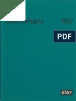 1967 BASF Geschaeftsbericht