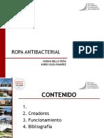 Ropa Antibacterial