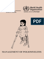 Management of Poliomyelitis Eng LLV